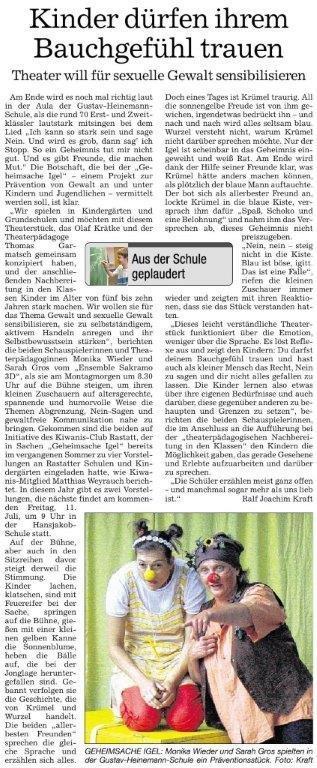 Presse Rastatt